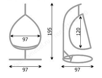 Кресло подвесное своими руками из металла 71
