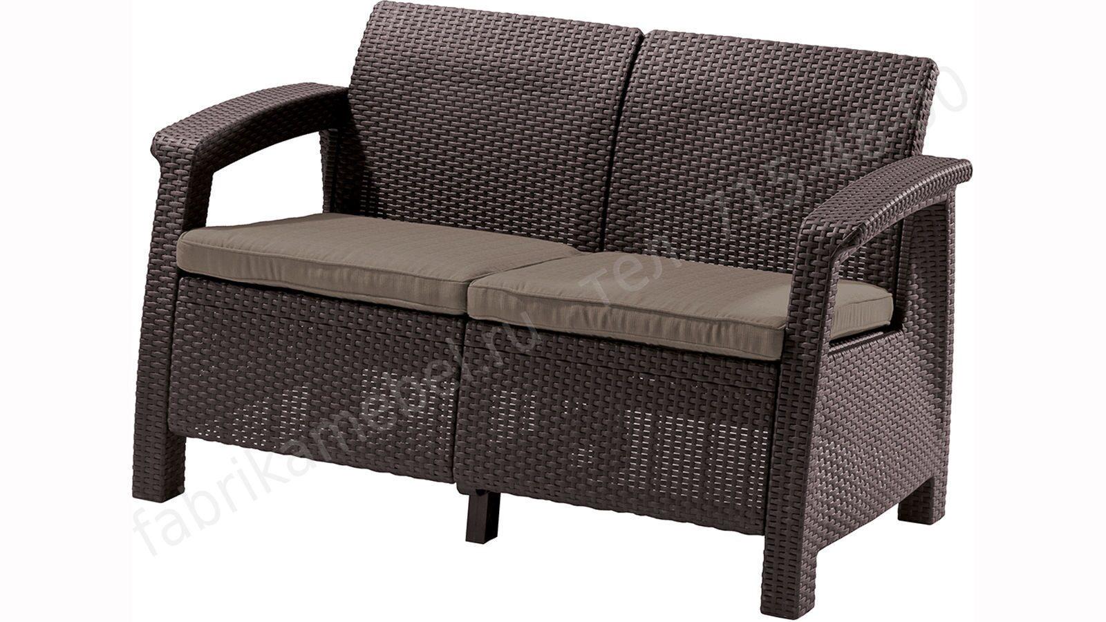 Диван трансформер corfu love seat (128х70х79см) - диваны из .